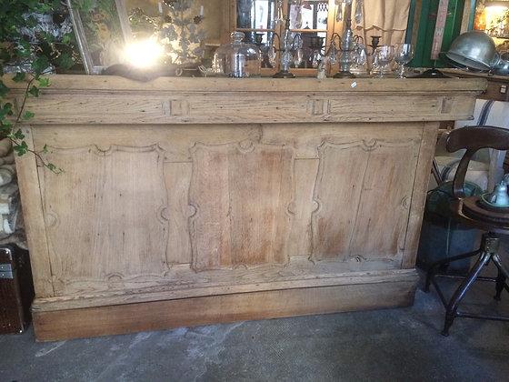 Bar en chêne 1900