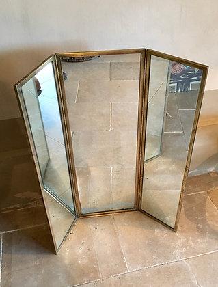 Miroir triptyque