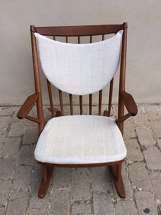 Rocking chair en Teck  Bramin Design Frank REENSKAUG -195895