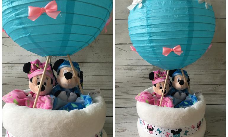 La montgolfière Jumeaux Disney