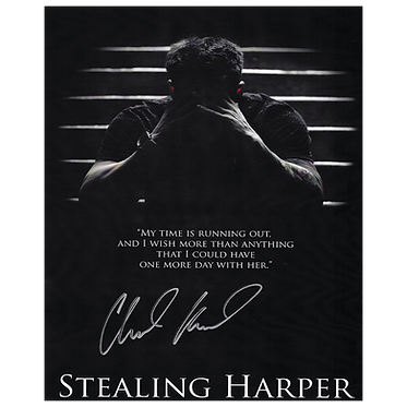 *SIGNED* STEALING HARPER PHOTO