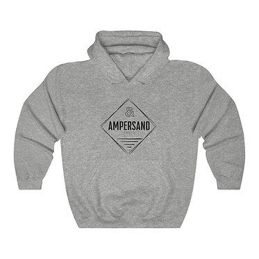 Ampersand Hooded Sweatshirt