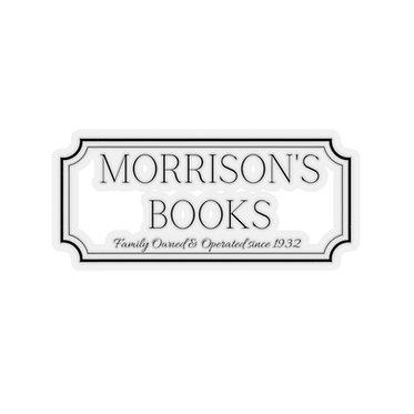 Morrison's Book Sticker