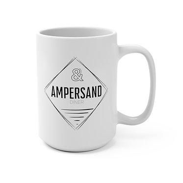Ampersand Mug 15oz