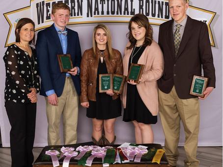 Morgan County, Colorado, livestock judging team named Reserve Champions at NWSS