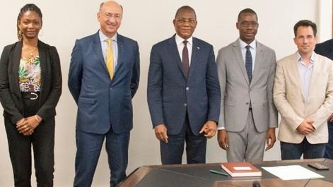 Lancement d'une démarche d'économie circulaire à Abidjan !!