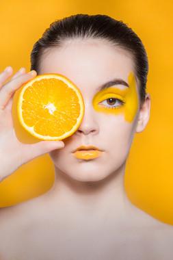 Makeup shoot