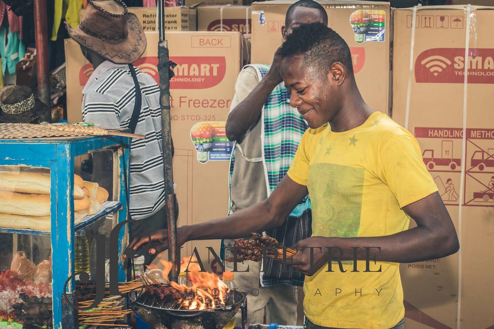 Ivory Coast market traders