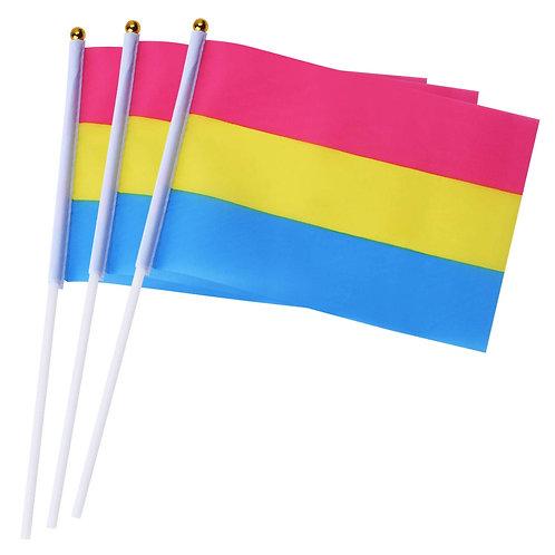 Mini Pansexual Pride Flag Human Rainbow Pride LGBTQIA+