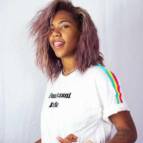 Pansexual Sleeves Rainbow Pride Shirt LGBTQIA+ Shirt Gay Lesbian Transgender Ase