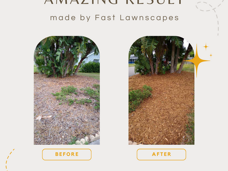 Mulch Installation made by Fast Lawnscapes!