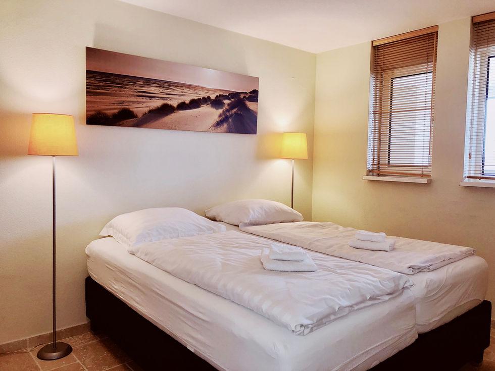 Slaapkamer 3 met 2 aparte bedden