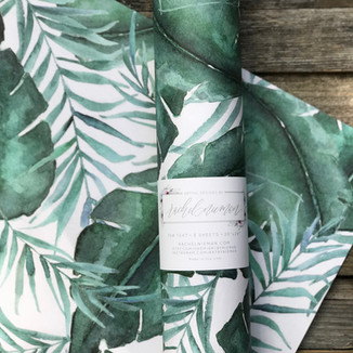 Monstera Gift Wrap