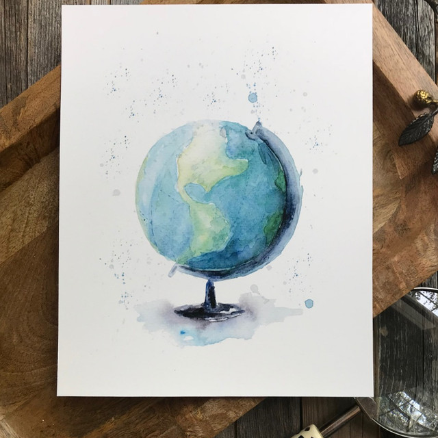 Watercolor Wanderlust