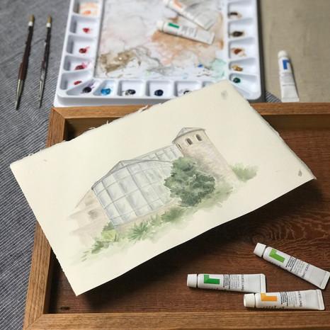 Watercolor Venue