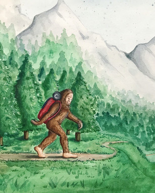 Backpacker Sasquatch