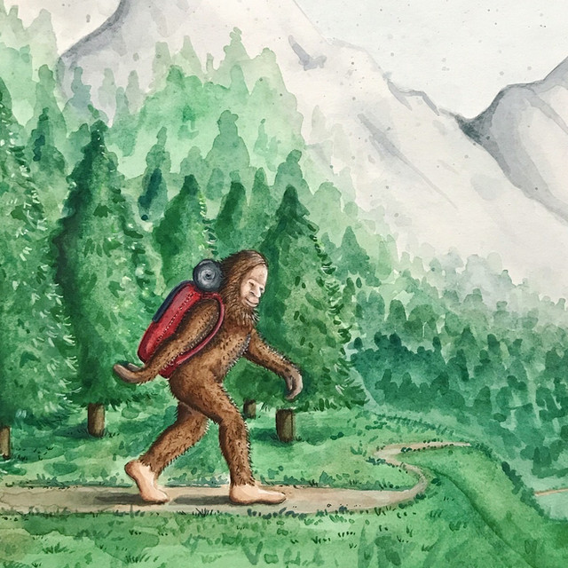 Backpacker Sasquatch