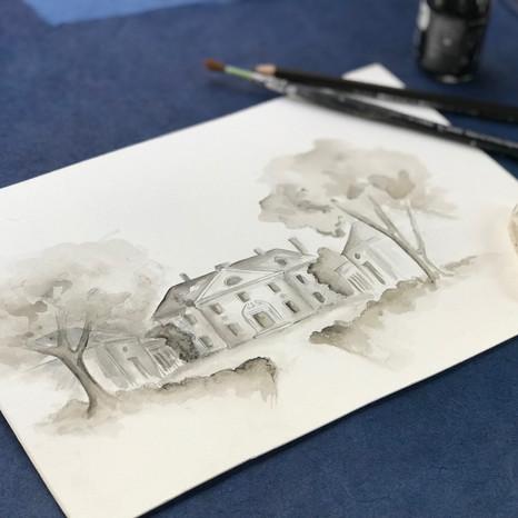 Ink Venue Painting