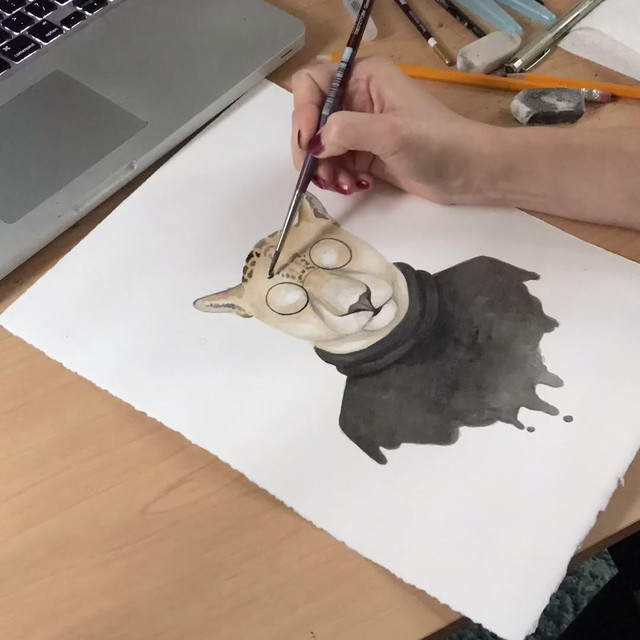 Watercolor Timelapse