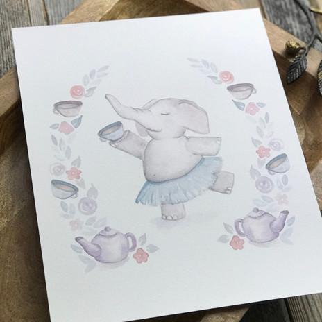 Elephant Tea Party