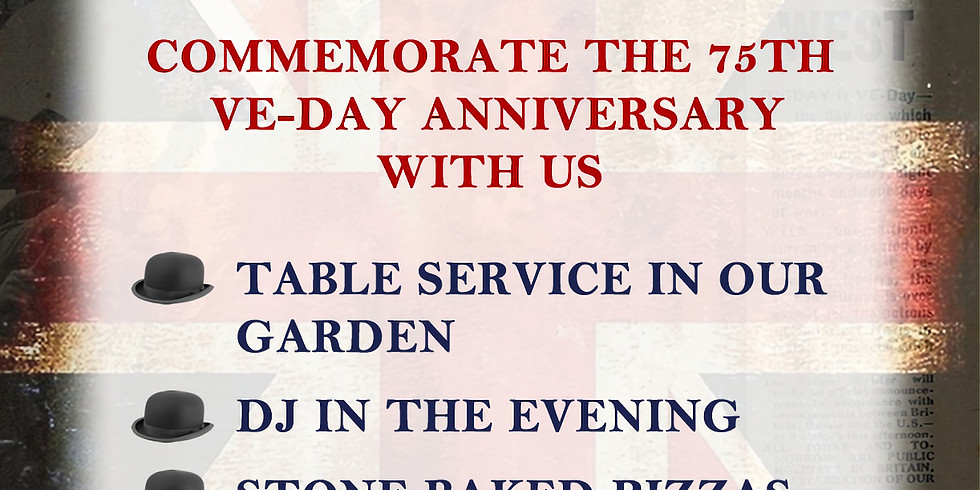 May Day Bank Holiday - 75th VE-Day anniversary