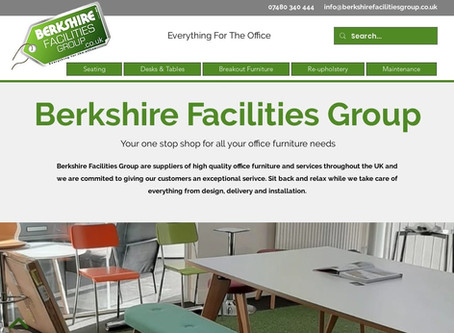New Site Launched For Office Furniture Company In Reading