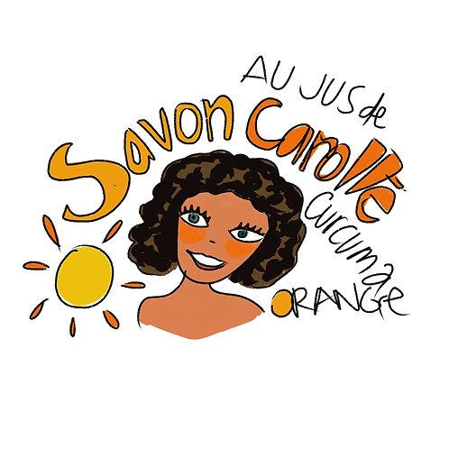 Savon bonne mine à l' huile essentielle d'Orange douce