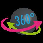 1 Prise de vue à 360° offerte