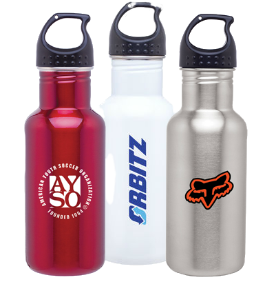 logo water bottles