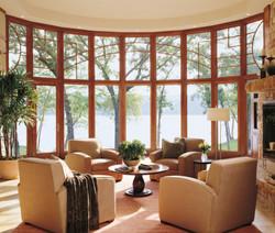 Large Bow Window, Wooden Window