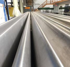 thin wall tubing, chem milling