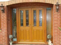 Front entry door, security door