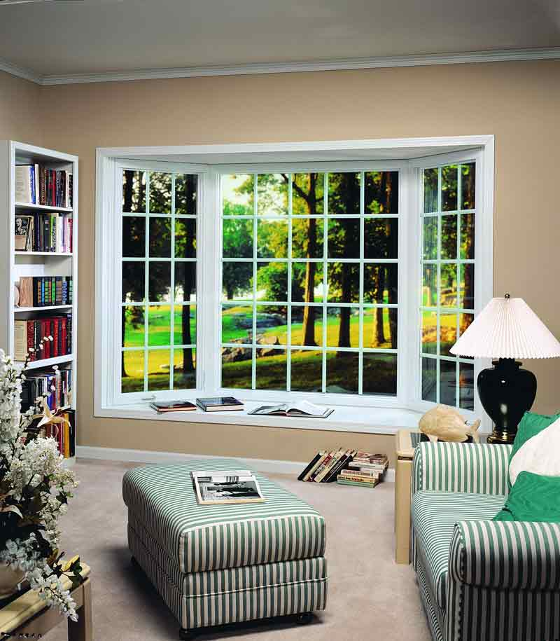 Bay Window Colonial White