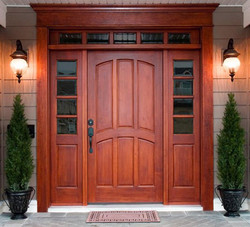 front entry door by Kish