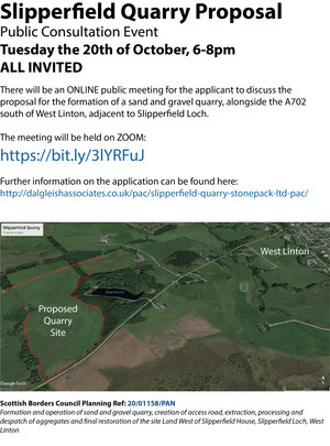 Slipperfield Quarry Proposal