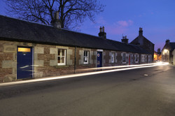 Weavers Cottages Headlights.JPG