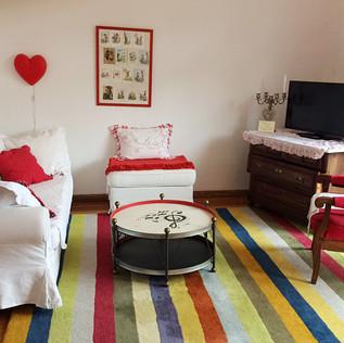 Wohnzimmer - Couchecke