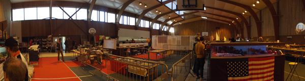 Panoramique de la salle