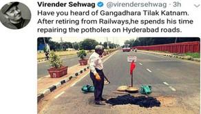 Lead Kindness Hero - Gangadhara Tilak Katnam Founder and Chairman Shramadaan Foundation