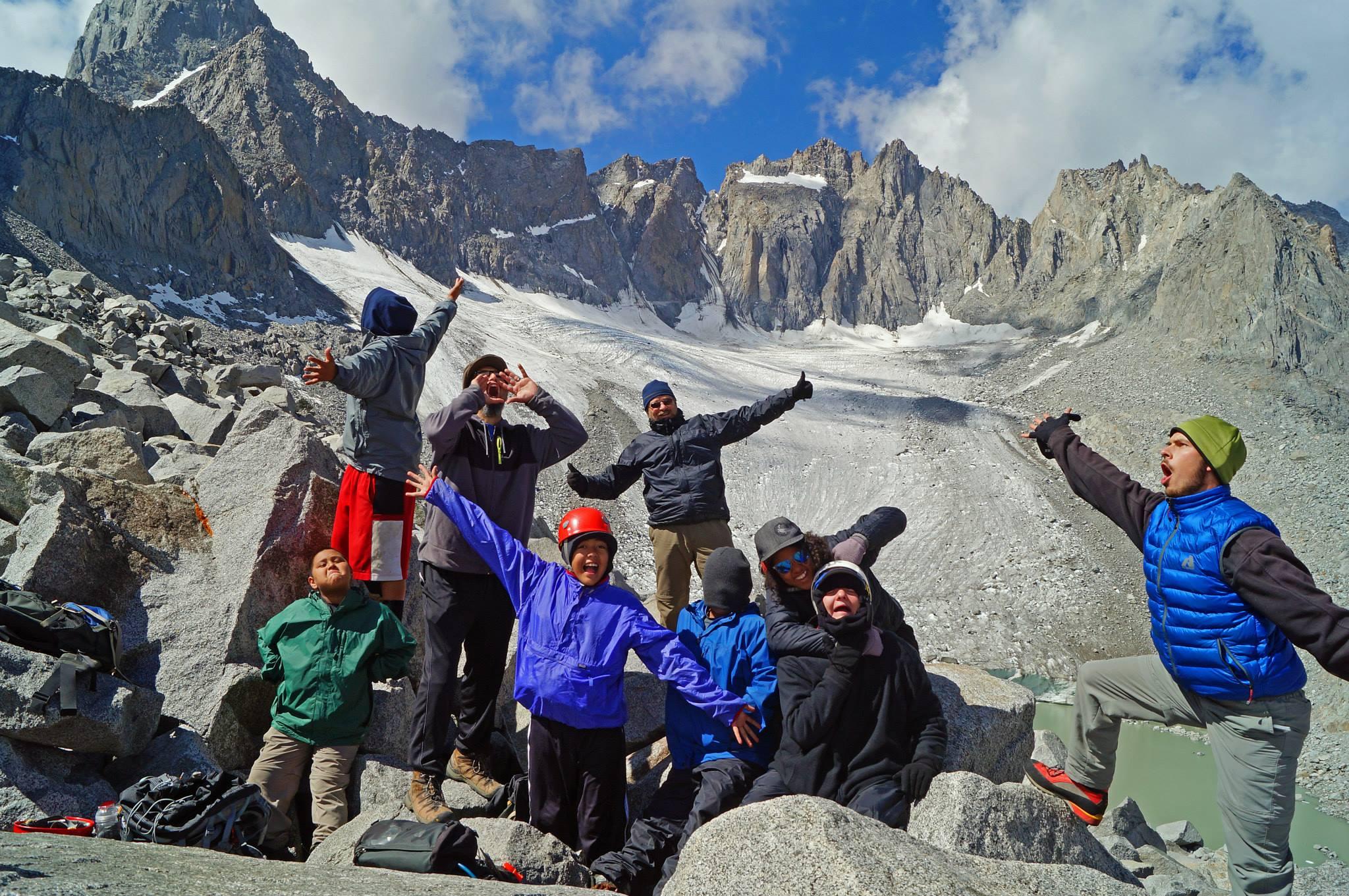 The Palisades Glacier