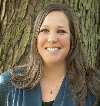 Melanie Brophy-brunette with green eyes