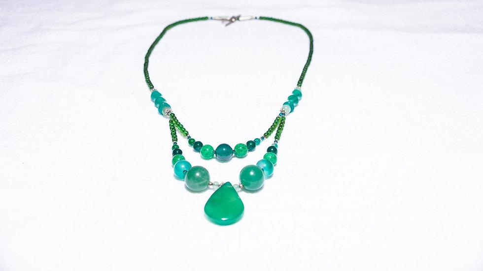 Sea-Green Jade Necklace