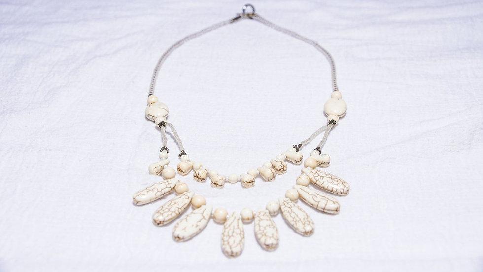 White Magnesite Necklace