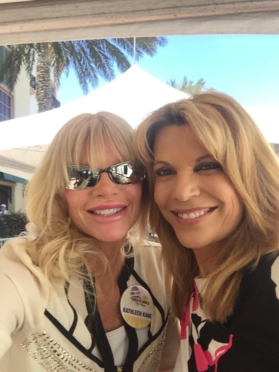 Kathleen & Vanna White