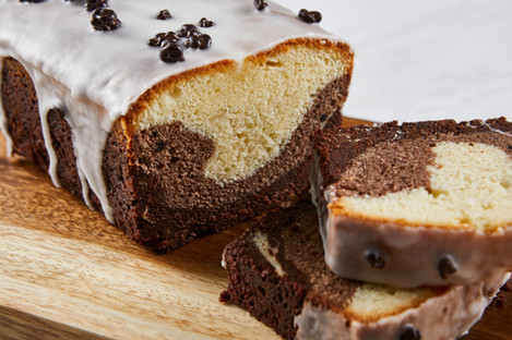 Triple Layer Pound Cake