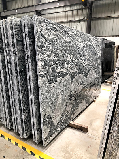 Marble with White Grey shades 3cm Thickness