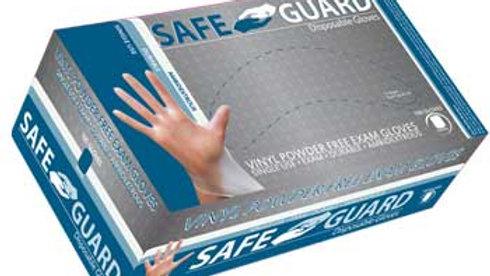 Safe Guard Powder-Free Exam Gloves, Vinyl 100/BX