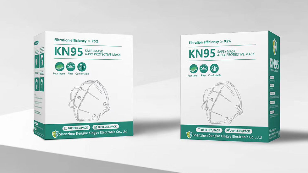 Kn- 95 Face Mask Pack of - 15 - In Stock Ready To Ship