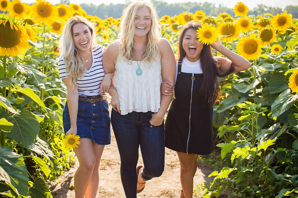 Girls in Sunflower Field Stock (2).jpg