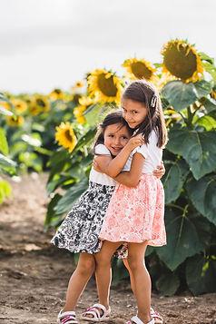 Sunflower field sisters stock.JPG